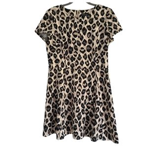 Jessica Howard animal print fit & flare dress